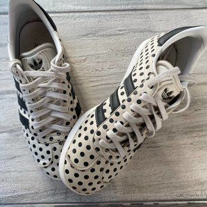 Adidas polka dots shoes - Women's Size 5.5 or 36.5